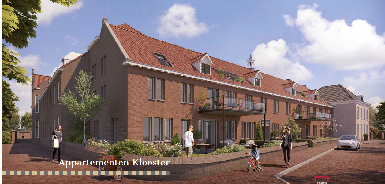 Transformatie appartementen 7th Heaven Nazareth Gemert