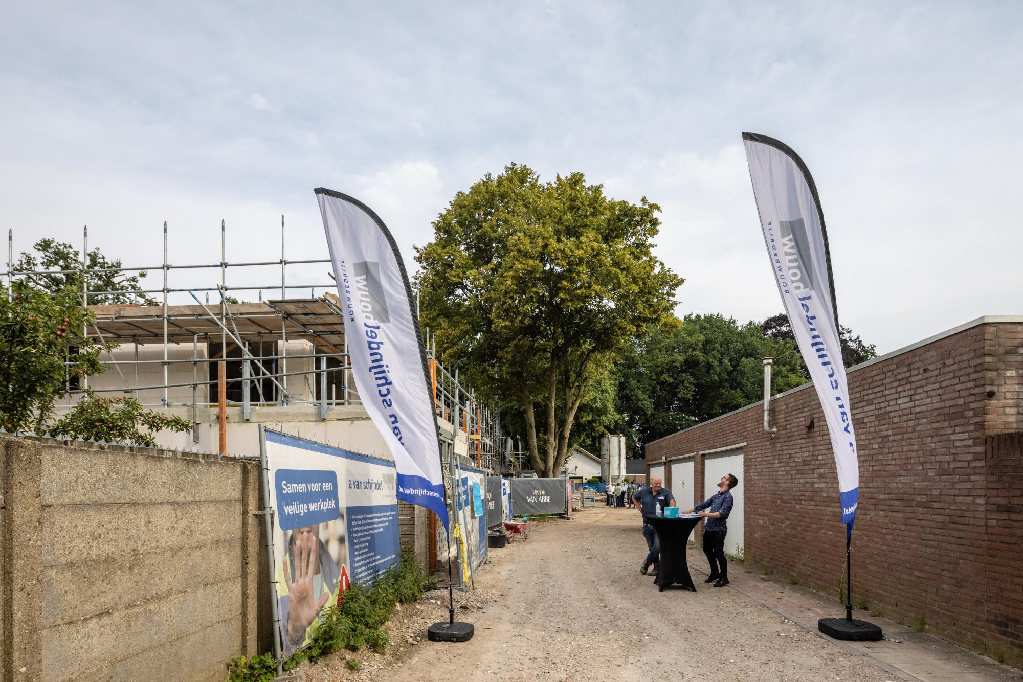 Open dag bouwplaats Sportlaan te Gemert en Kerkakkerstraat te Eindhoven